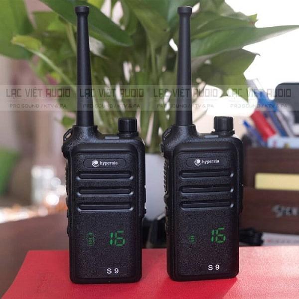 Ưu điểm của bộ đàm VHF là gì?