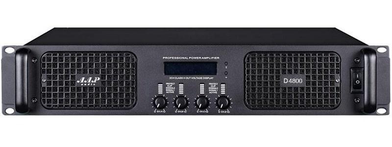 Cục đẩy công suất AAP D4800 sở hữu thiết kế hiện đại, sang trọng