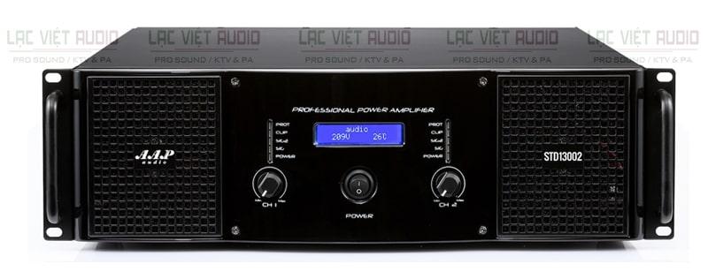 Cục đẩy công suất AAP STD13002 có thiết kế sang trọng, đẹp mắt