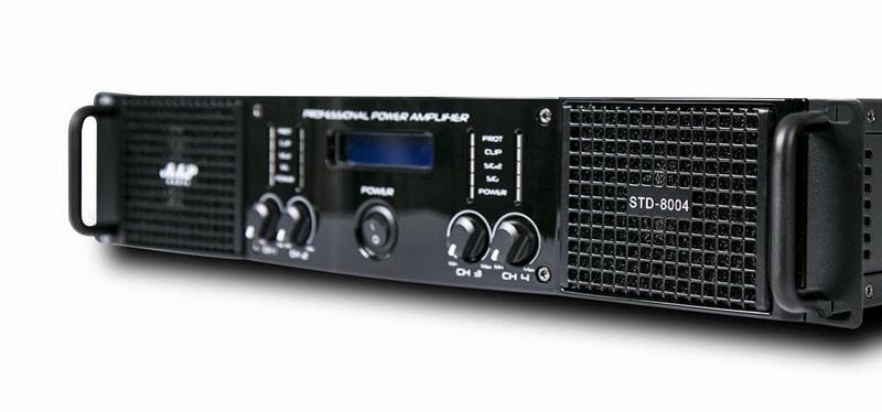 Cục đẩy công suất AAP STD8004 sở hữu thiết kế hiện đại sang trọng
