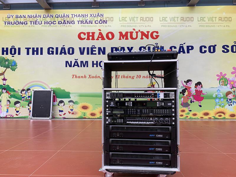 Hệ thống thiết bị điều khiển dàn âm thanh
