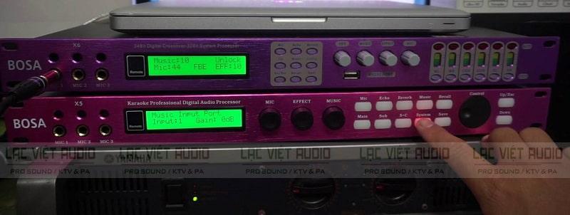 Chỉnh Cotrol / Volume panel (mức âm lượng)