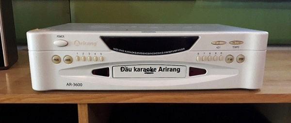 Đầu hát karaoke Arirang mang nhiều tính năng ưu việt