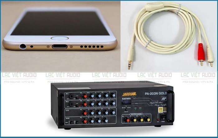 Cách kết nối amply với điện thoại nào tốt hơn?