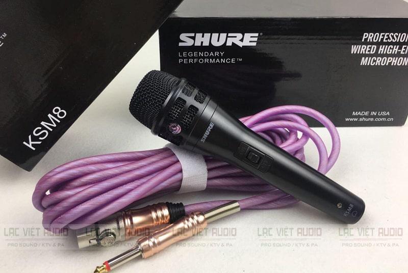Mua micro Shure có dây cần lựa chọn nhà cung cấp uy tín và test sản phẩm kỹ càng