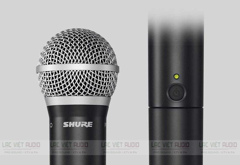 Micro Shure có dây hát karaoke hay PG58
