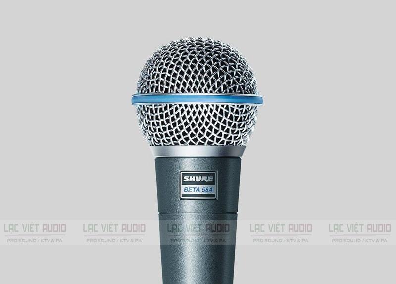 Micro không dây Shure có thiết kế đẹp mắt, thể hiện được cá tính người dùng
