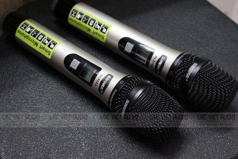 Micro không dây Shure chính hãng bền bỉ và phối ghép tốt