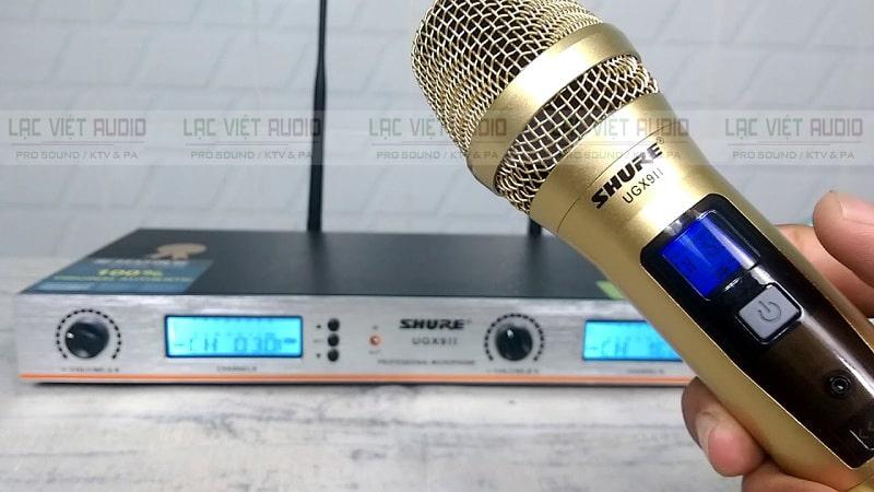 Micro không dây Shure cao cấp là thương hiệu từ USA