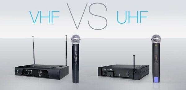 Vậy micro VHF và UHF, nên chọn loại nào?