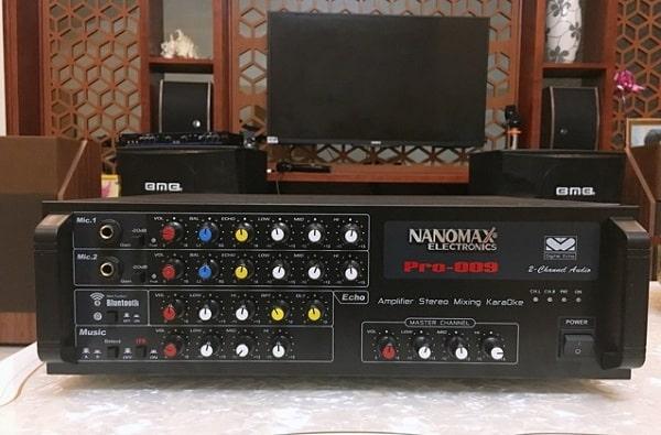 Cách chỉnh amply Nanomax nghe nhạc hay nhất