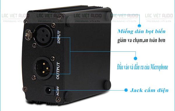 Bộ nguồn Phantom 48V rời cho micro