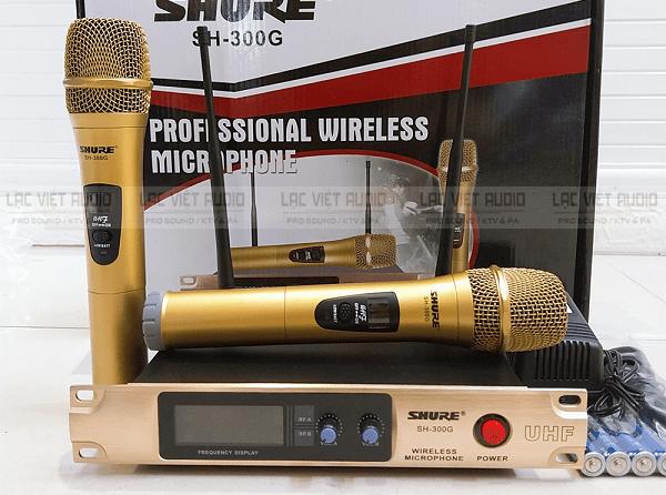 Micro không dây dưới 1 triệu Shure SH-300G