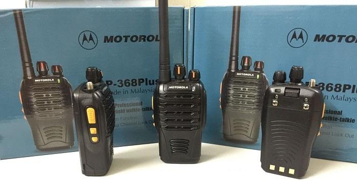 Sóng UHF ứng dụng trong bộ đàm