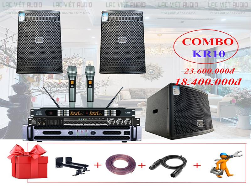 Dàn karaoke gia đình KR10 sản phẩm chính hãng, chất lượng cao