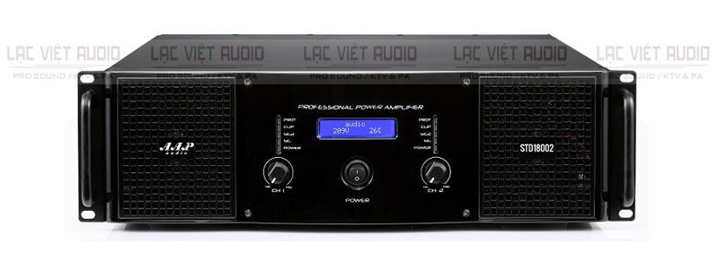 Cục đẩy công suất AAP STD18002 sở hữu thiết kế sang trọng, đẹp mắt