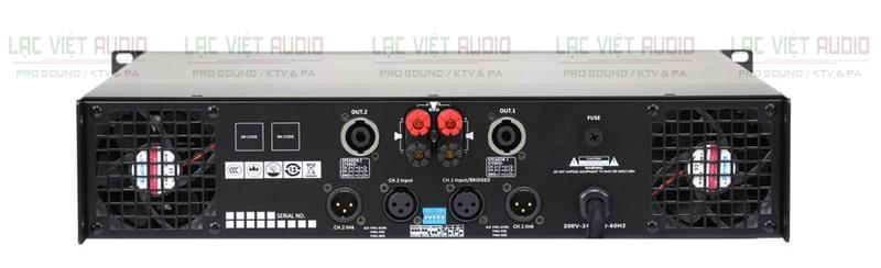 Cục đẩy công suất AAP STD 6002 mặt sau