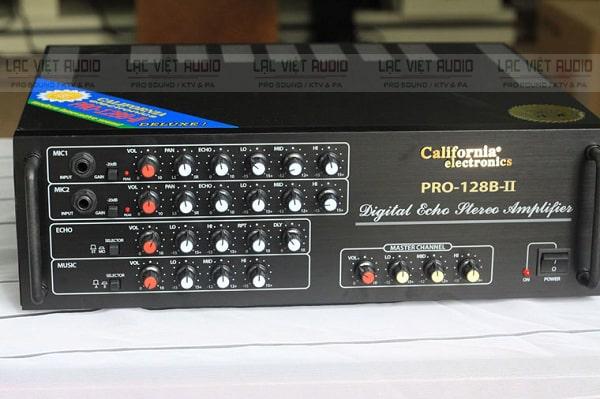 Amply 12 sò giá rẻ California Pro 128B II