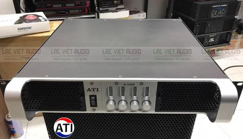 Cục đẩy ATI A-1550 sở hữu thiết kế đẹp mắt, hiện đại