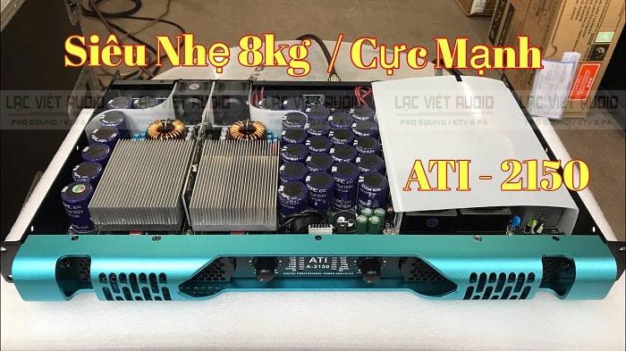 Cục đẩy ATI A-2150 có mức công suất mạnh mẽ