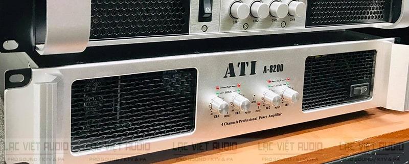 Gam màu bạc sang trọng của đẩy ATI A-8200