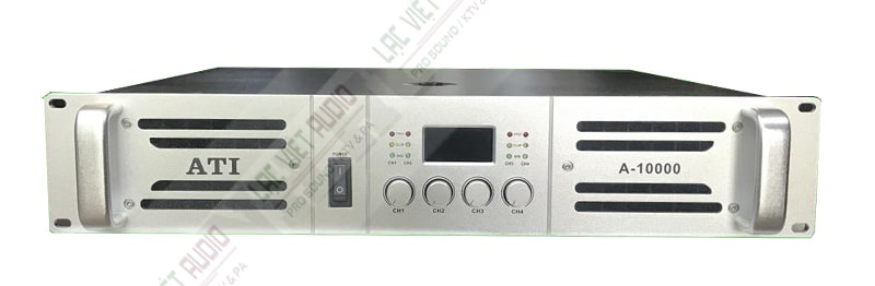 Cục đẩy công suất ATI A-10000 thiết kế đẹp mắt và có nhiều tính năng nổi bật