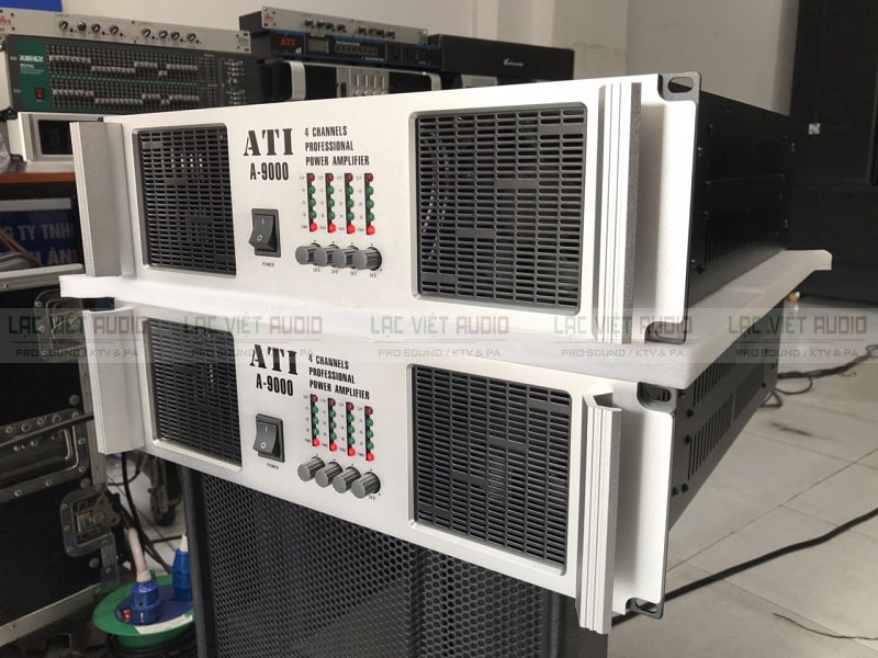 Phía trước ATI 9000 có 4 nú điều chỉnh cho 4 kênh