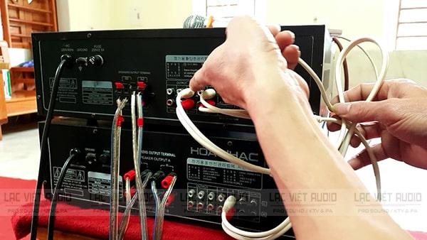 Cách kết nối 2 amply với nhau để 2 amply đều có khả năng điều chỉnh hiệu ứng