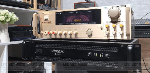 Cục đẩy công suất và amply đều có tác dụng khuếch đại tín hiệu âm thanh