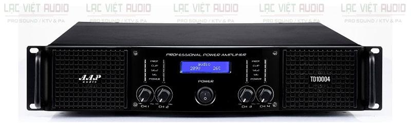 Cục đẩy công suất AAP TD10004 sở hữu thiết kế hiện đại, sang trọng