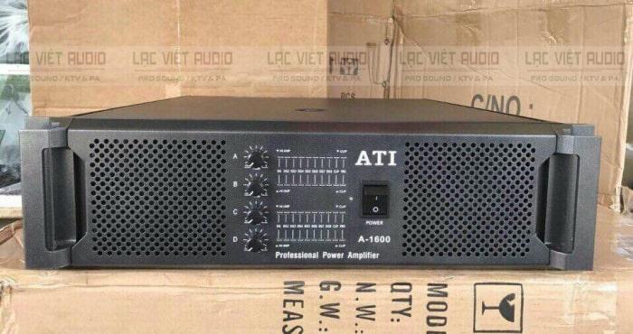 Cục đẩy ATI 1600 sở hữu thiết kế sang trọng, đẹp mắt