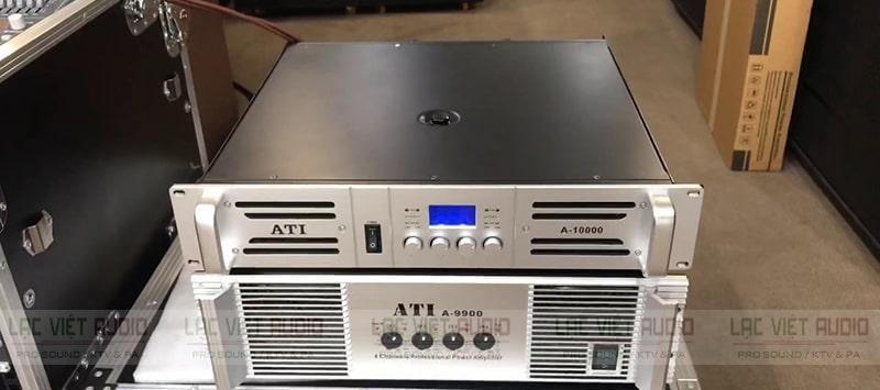 Cục đẩy ATI 10000 cho công suất mạnh mẽ lên đến 1500W mỗi kênh