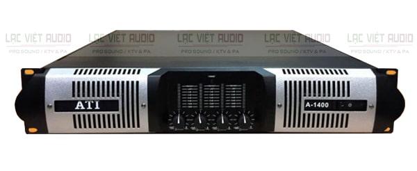 Cục đẩy công suất ATI A-1400 có thiết kế bắt mắt, nhỏ gọn