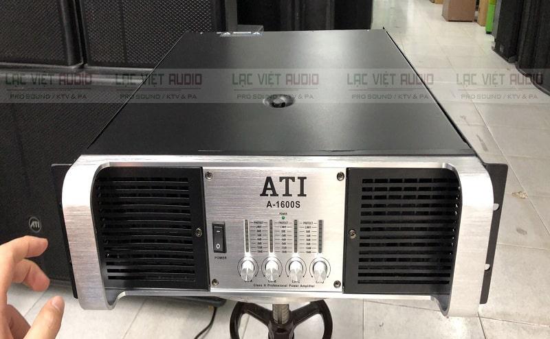 Cục đẩy ATI A1600S sở hữu thiết kế đẹp mắt sang trọng