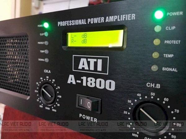 Cục đẩy ATI A1800 được trang bị 5 hệ thống bảo vệ thông minh