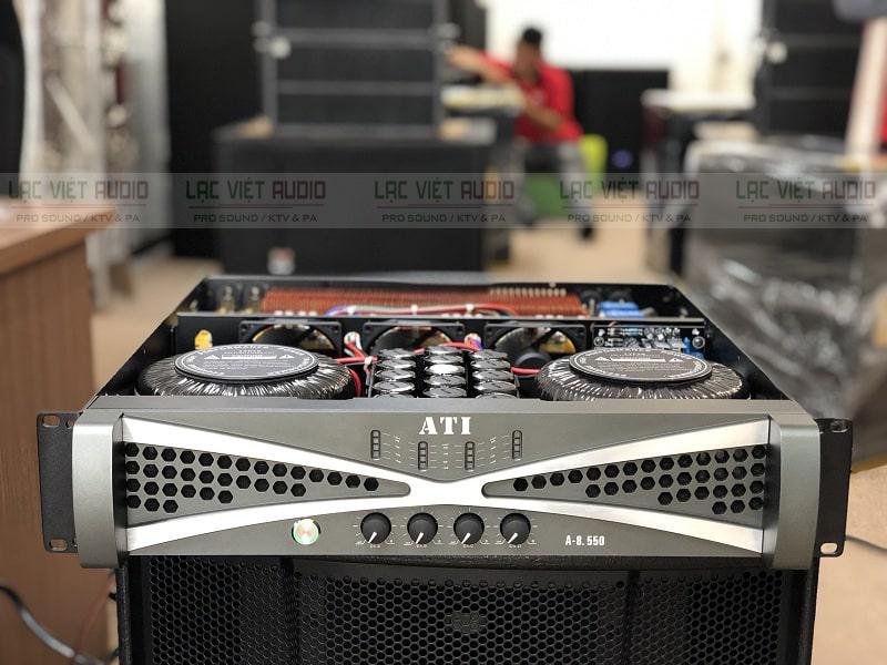 Cục đẩy ATI A-8550 sở hữu thiết kế hiện đại, mạnh mẽ