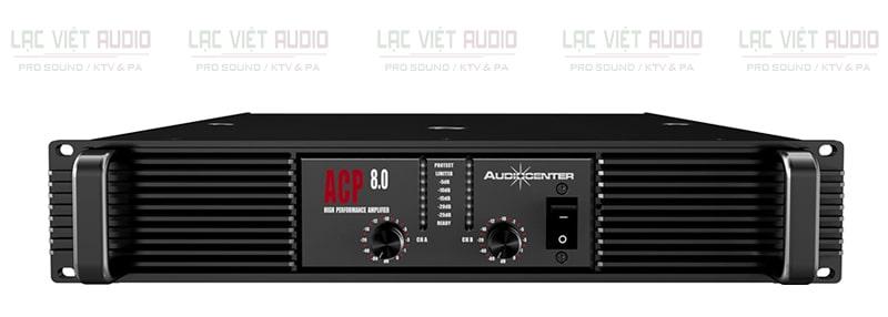 Cục đẩy công suất Audiocenter ACP8.0 hoạt động ổn định, mạnh mẽ
