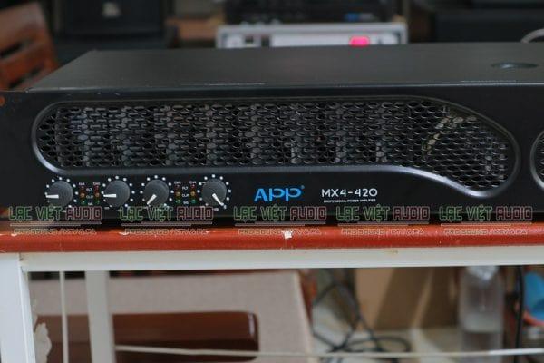 Cục đẩy APP MX4-420 đó là thiết kế đẹp mắt