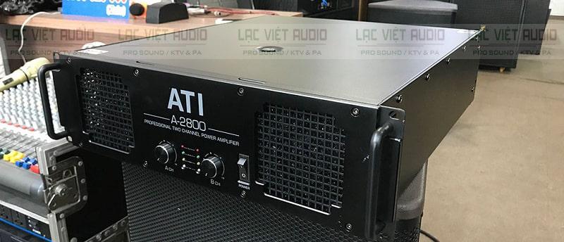 Cục đẩy ATI A2800 được trang bị linh kiện chất lượng cao