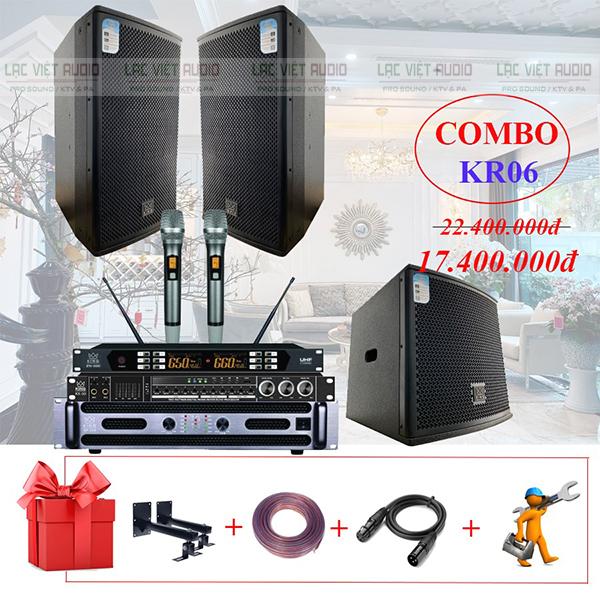 Các sản phẩm trong bộ dàn karaoke gia đình KR06 được đánh giá cao về chất lượng âm thanh cũng như kiểu dáng thiết kế