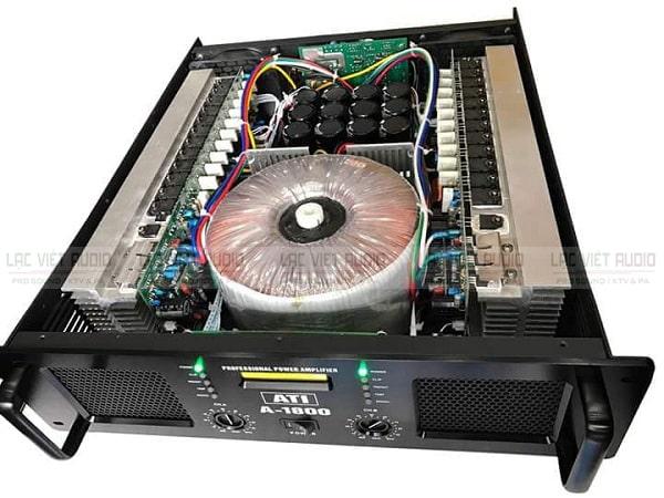 Cục đẩy ATI 1800 có thiết kế hiện đại thông minh
