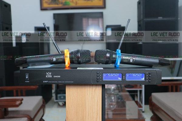 Hình ảnh của bộ micro không dây King EW200