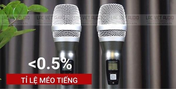 Bộ micro không dây giá dưới 2 triệu phải phù hợp tốt với dàn âm thanh