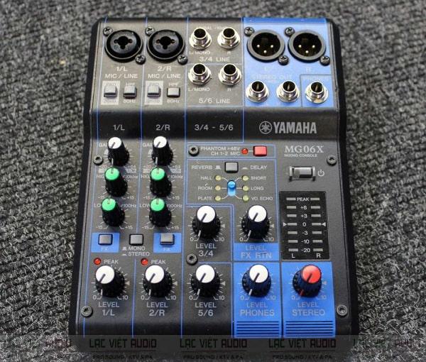 Chọn mixer mini có reverb nên chọn những thương hiệu có tiếng