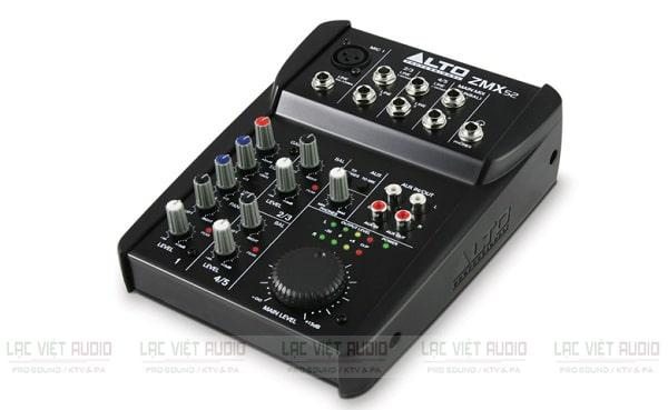 Mixer mini có reverb Alto ZMX52