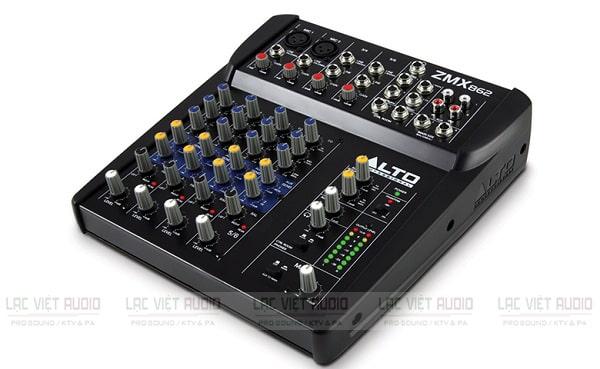 Mixer mini có reverb Alto ZMX862