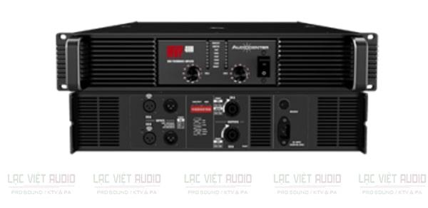 Cục đẩy Audiocenter MPV4000 sở hữu thiết kế đẹp mắt, sang trọng