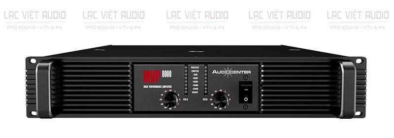 Cục đẩy Audiocenter MVP8000 sở hữu giao diện thông minh, đẹp mắt