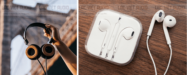 Để nghe nhạc 8D bạn có thể đơn giản dùng các tai nghe chất lượng