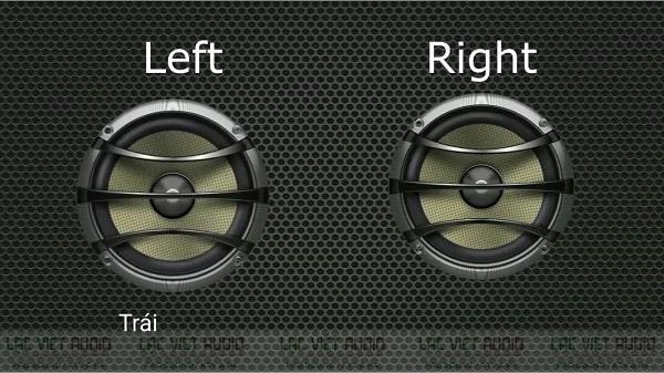 Loa trái phải là gì?